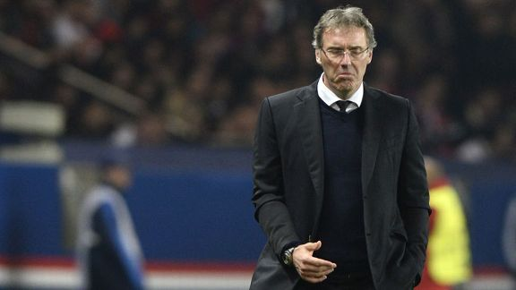 Laurent Blanc Champions LEague patrol