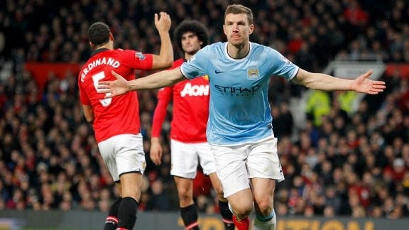 Man United vs Man City 25.03.2014