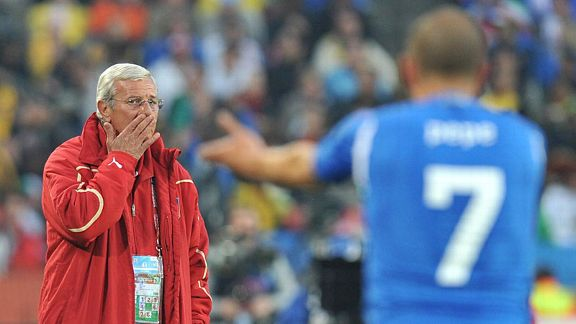 Marcello Lippi's Italy provided a miserable defence of their trophy in 2010.