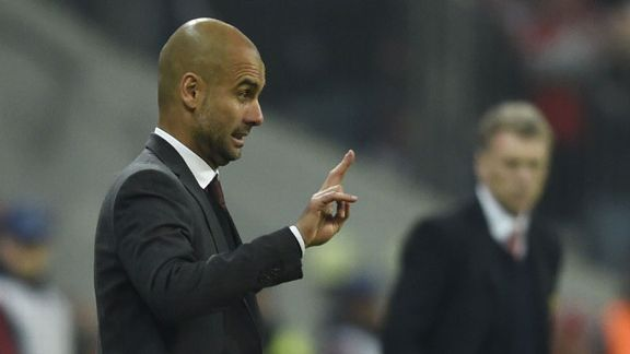 Pep Guardiola has no interest in succeeding David Moyes.
