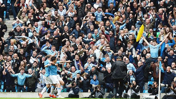 Man City juara EPL 2014