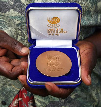 Lucas Sang's medal