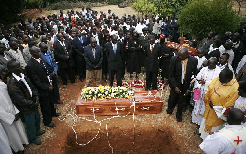 Sang funeral
