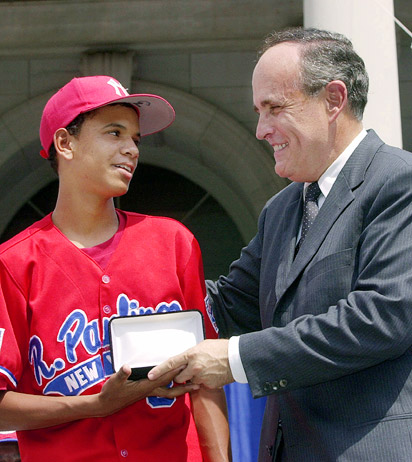 Danny Almonte, Rudy Giuliani