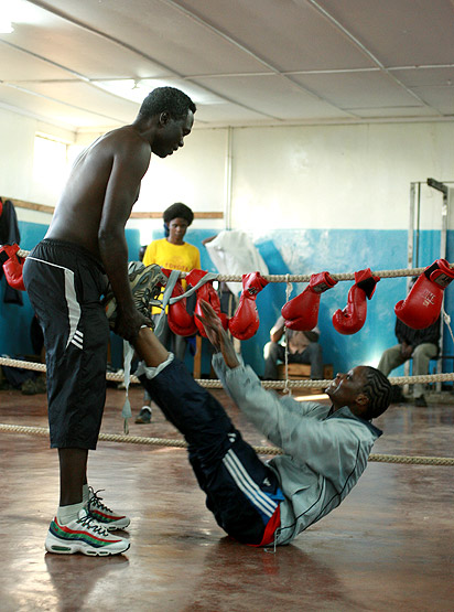 Mwamba training
