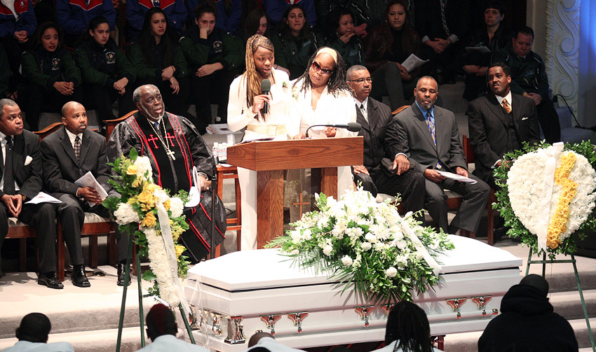 Terray Rogers funeral