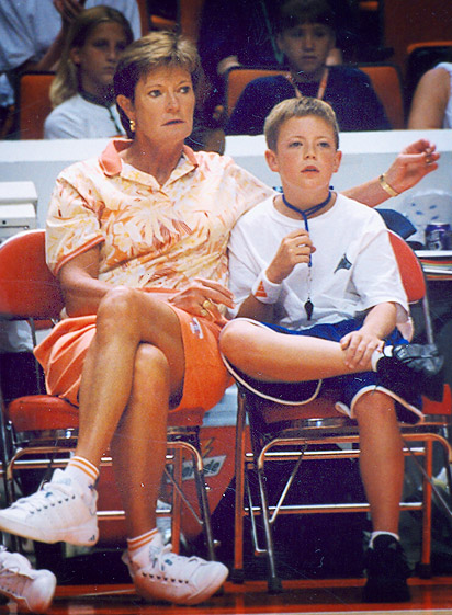 Pat and Tyler Summitt
