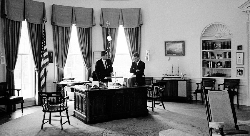 John and Robert Kennedy