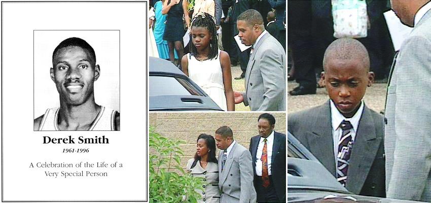 Derek Smith's funeral