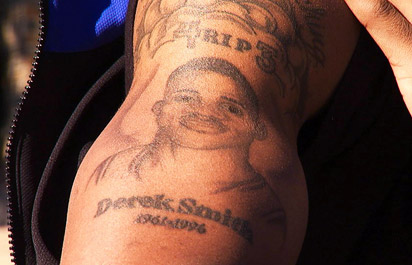 Nolan Smith's tattoo