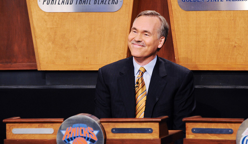 Mike D'Antoni at lottery