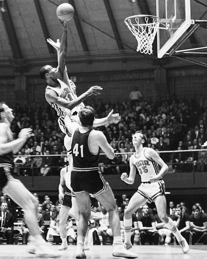 Dave Bing at Syracuse