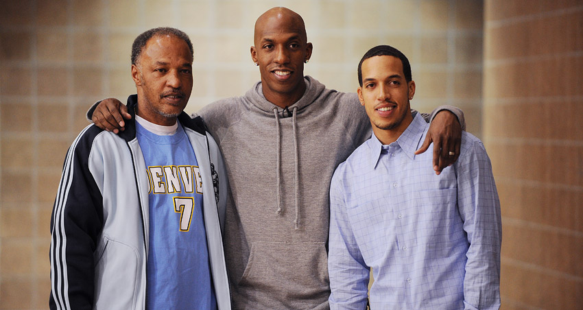Ray, Chauncey and Rodney Billups