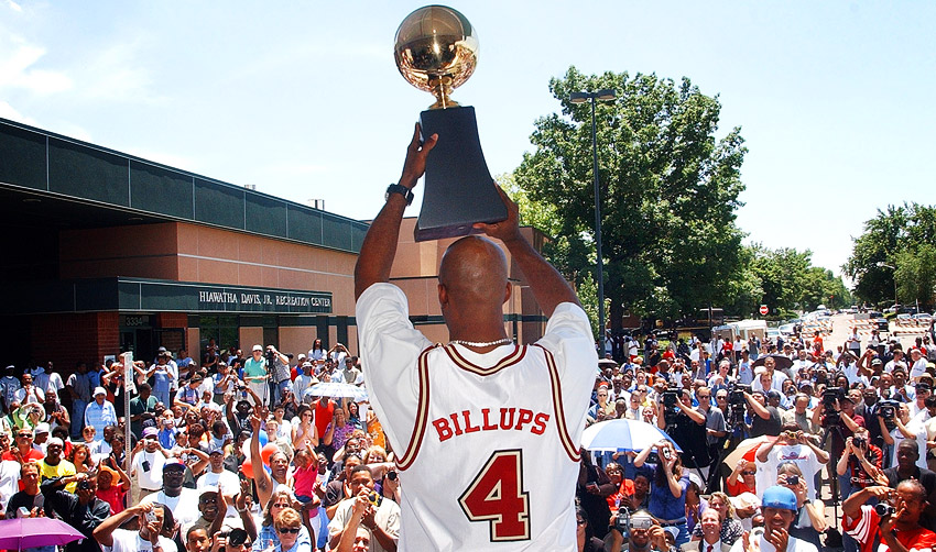 Chauncey Billups in Denver