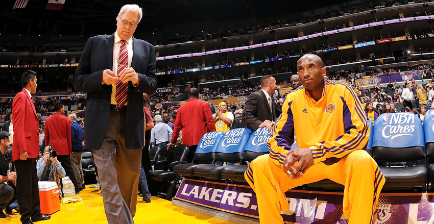 "> Kobe responds to Phil Jackson: ""I'm not buying any of that Zen bull!!"" - Photo posted in BX SportsCenter 