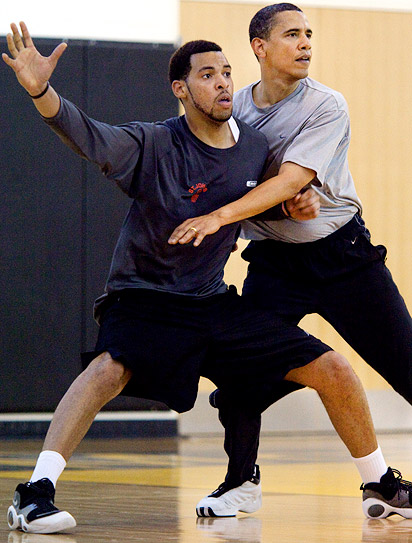 Obama playing defense