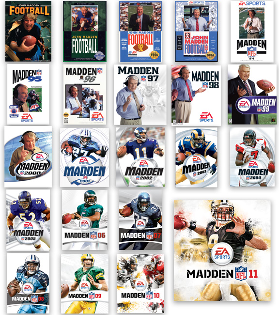 Madden covers