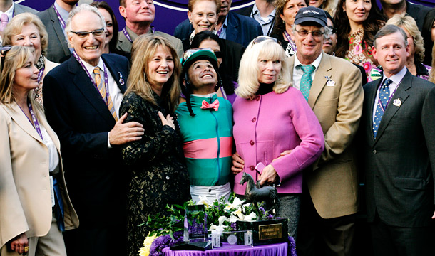 Breeders' Cup Classic winners circle