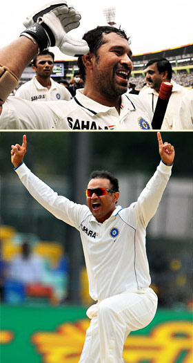 Sachin and Sehwag