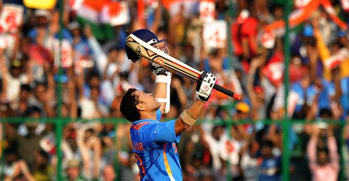 Sachin's Century