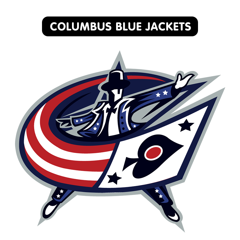 Nhl National Hockey League Team Logos As Redesigned By