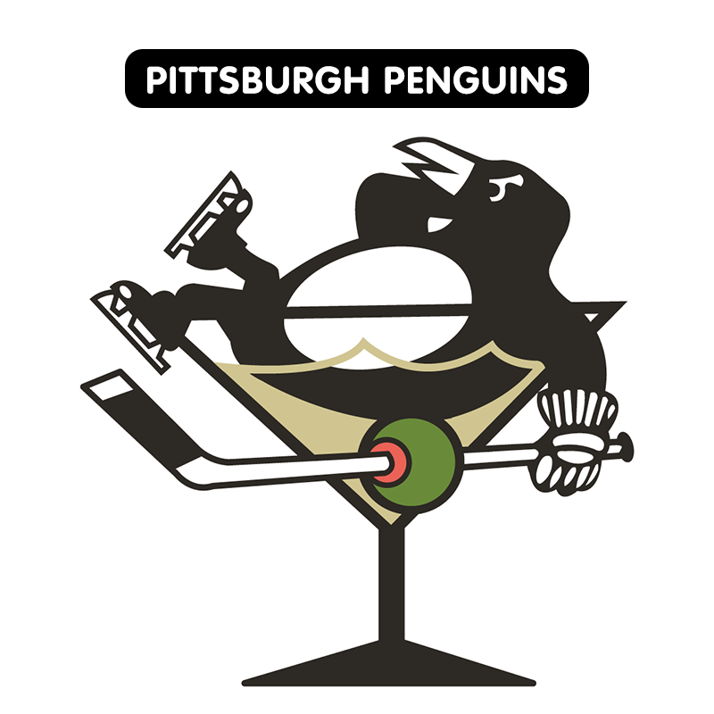 NHL Team Logos Redesigned With Vegas Flair (ESPN) | Joy Hog!
