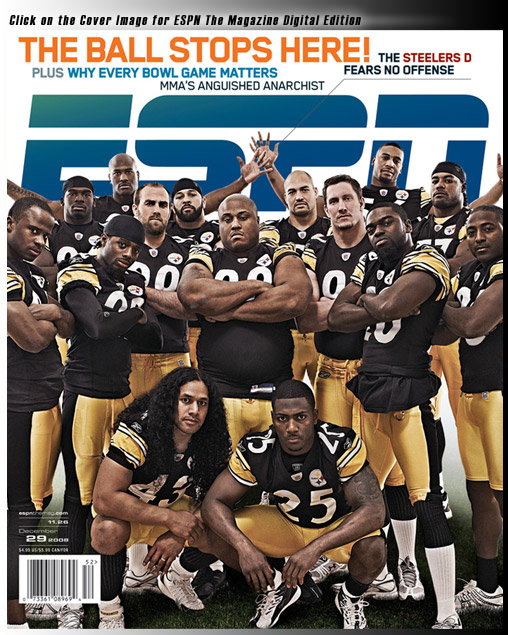 Steelers Defense ESPN The Magazine Cover