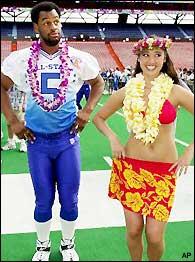 Donovan McNabb Pro Bowl Hula