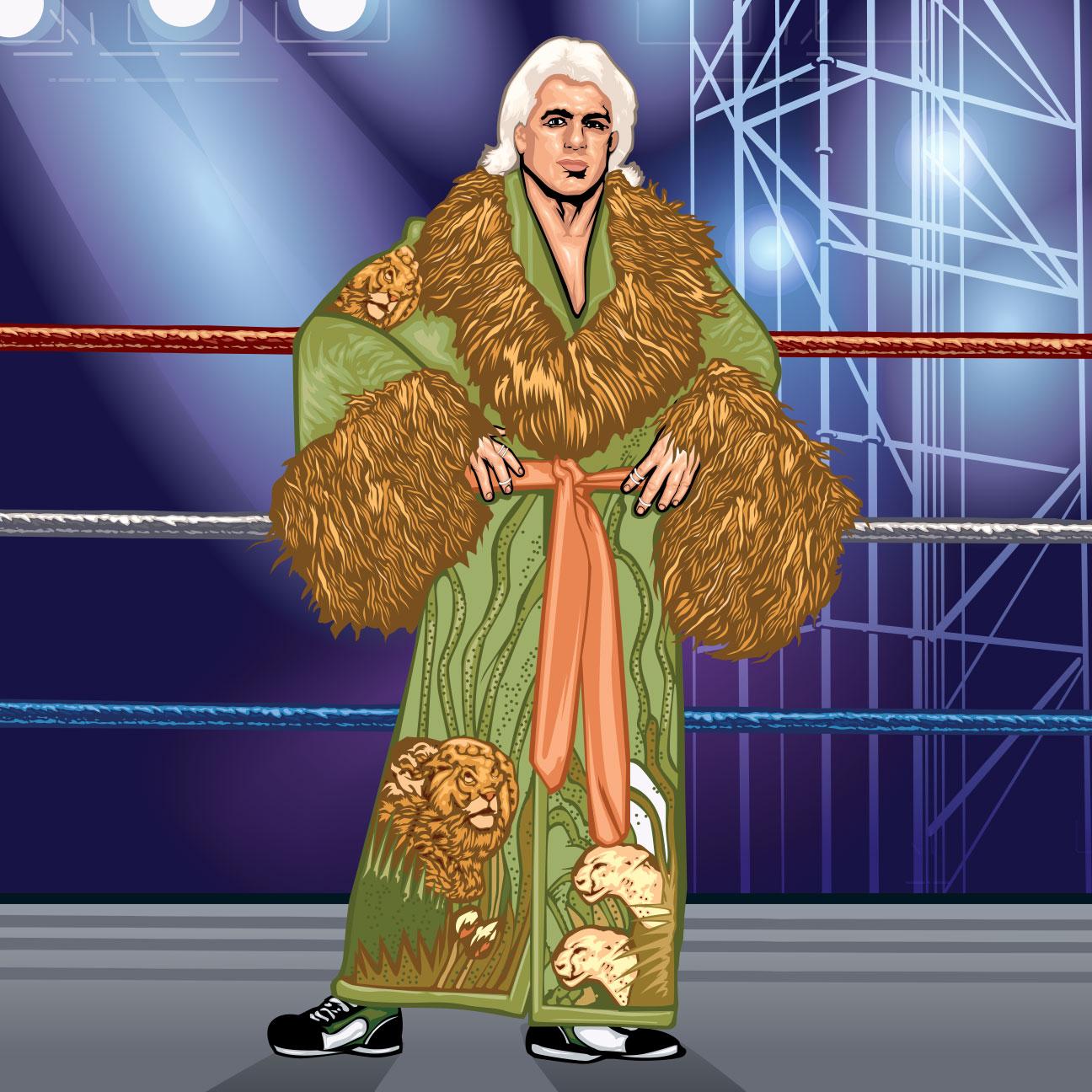 Ric flair robe plane