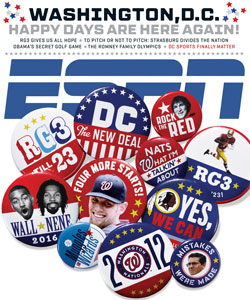 ESPN the Magazine cover, October 2012