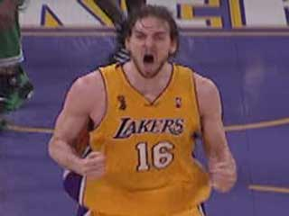 More Intensity for Pau Gasol