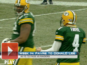 Top 10 Favre Completions From 2007