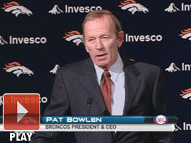 Pat Bowlen press conference