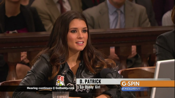danica patrick go daddy video. Danica Patrick facing the