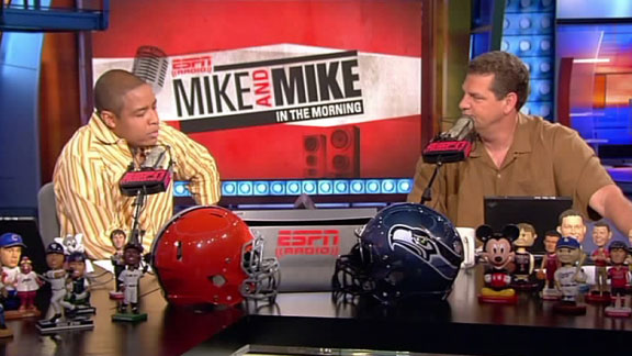 Mike Hill and Mike Golic agree to get tattoos if Notre Dame plays in the