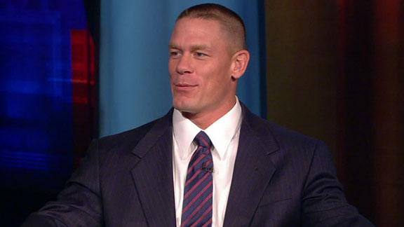 new images of john cena. John Cena talks about his news