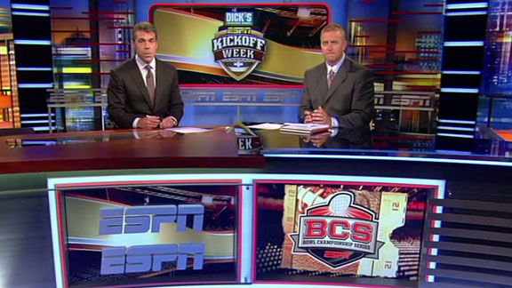 projected bcs standings We are still a week away from the 2011 debut of college football's bcs rankings, but thanks to some reverse engineering, we get an early peek at what they.