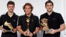 Forl�n recibi� el Bal�n de oro por el Mundial