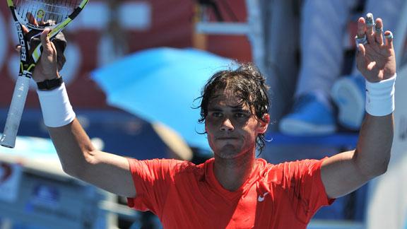 rafael nadal 2011 australian open. Rafael Nadal, Andy Murray,