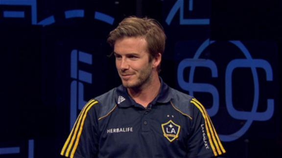 david beckham 2011 pics. David Beckham sits down with