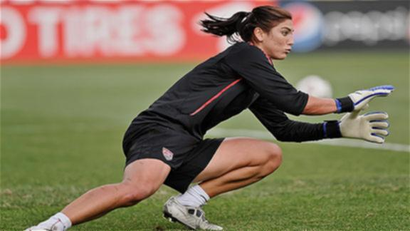 hope solo 2011. Get to know Hope Solo,
