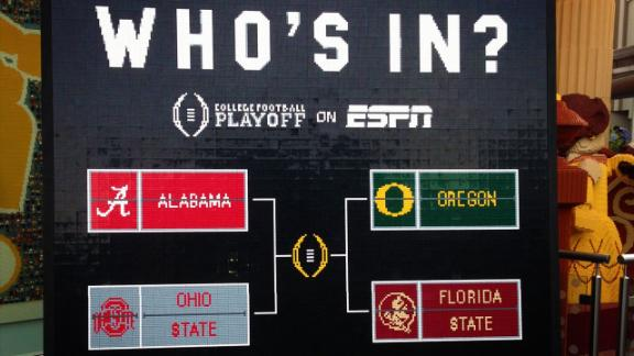 college footb college football playoff bracket