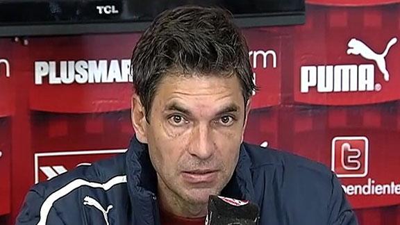 """Pellegrino: """"Más que tres puntos"""""""