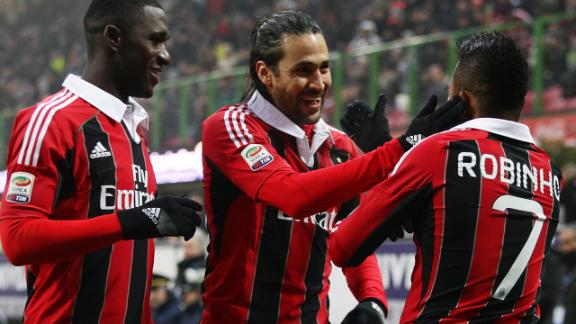 AC Milan vs Siena