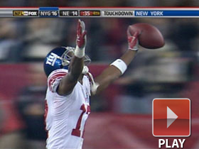 SB XLII Can't-Miss Play: Plax game-winner