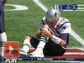 Tom Brady injury