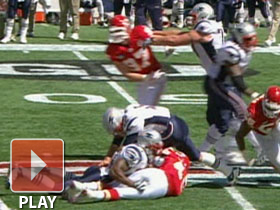 Dirty hit on Brady?