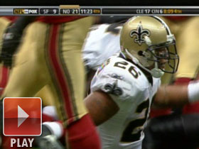 Deuce McAllister Highlight, WK 04 vs. 49ers 2008