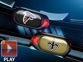 New Orleans Saints Atlanta Falcons