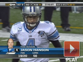 Jason Hanson sets record